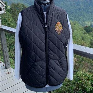 Ralph Lauren Crest Reversible Quilted Vest